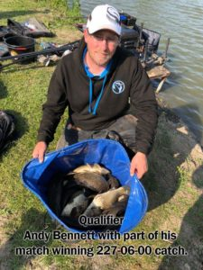 Andy Bennett | Lindholme Lakes | 227lbs 6oz | 26th May 2018