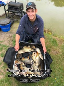 Andy Power | Partridge Lakes | 107lbs 1oz | 2nd June 2018
